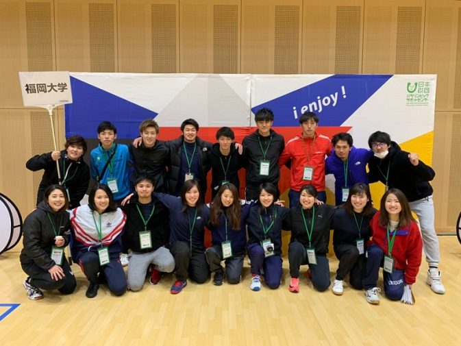 福岡大学チーム集合写真