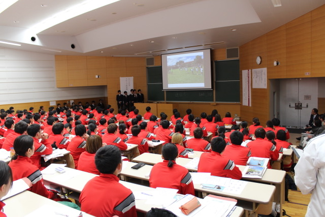 JICAプログラム報告会の様子の写真