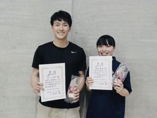 広川選手と今村選手の写真